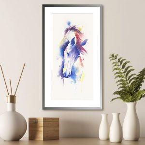 Cuadro Caballo 47 x 78 cm