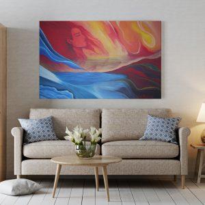 Cuadro Pintura al Oleo 70 x 100 cm