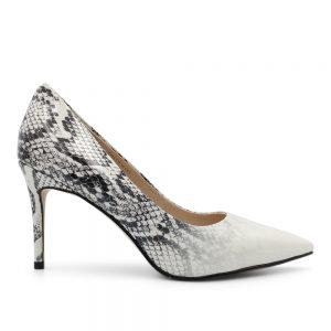 Zapato Taco Snake Blanco 1