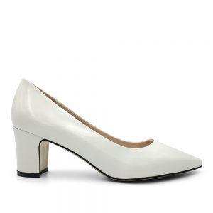 Zapato Taco Amelia Blanco 1