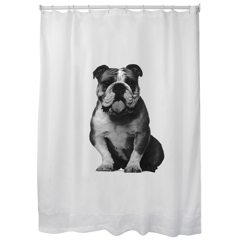 Cortina Bulldog de baño 1