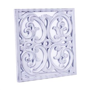 Espejo Mural Placa Blanco 1