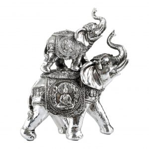 Elefantes Decorativos Jaipur Doble 1