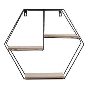 Repisa Hexagonal Estocolmo 1