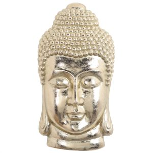 Cabeza de Buda Decorativa Gold 1