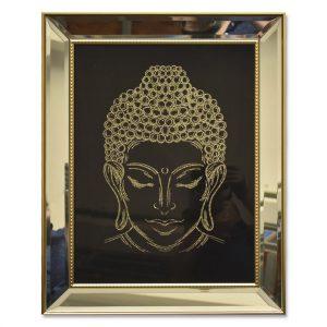 Cuadro Buda Cabeza Gold 1