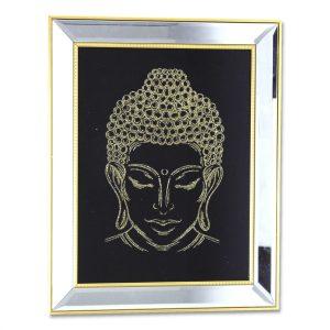 Cuadro Buda Cabeza Silver 1