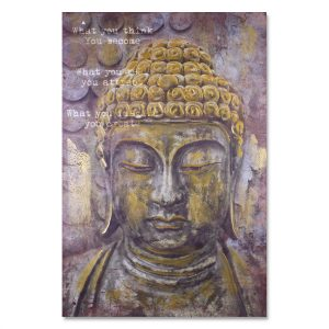 Cuadro Buda Gold 1