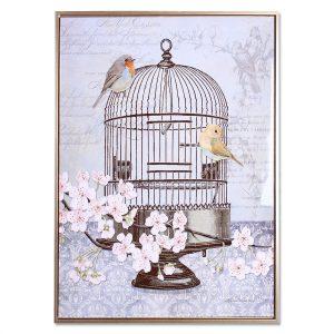 Cuadro de Pájaros 1