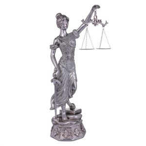 Dama Decorativa Justicia Silver 1