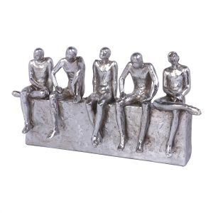 Figura Decorativa Friends Silver 1