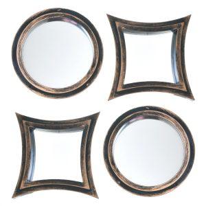 Set Espejos Chicago Copper 4 Piezas 1